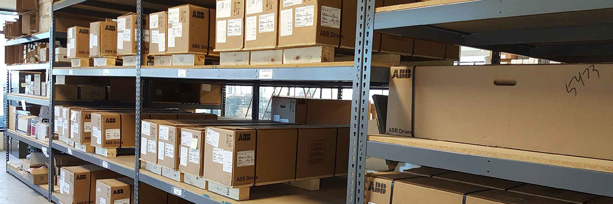 We stock ABB drives!