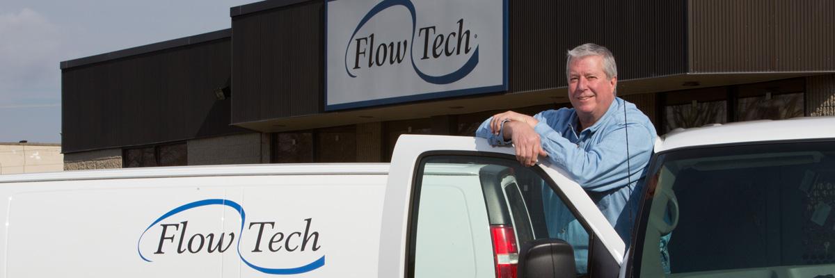 Flow Tech Technician Peter Lawson