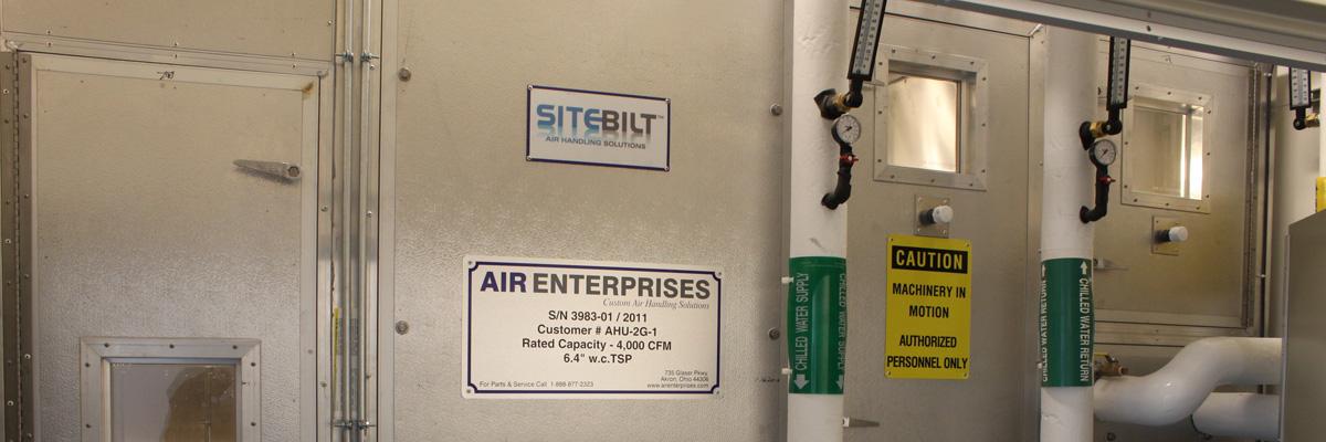 SiteBilt Air-handling unit
