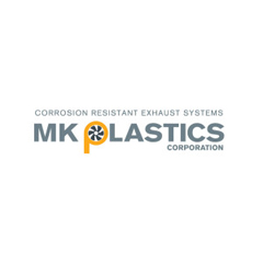 M.K. Plastics Logo