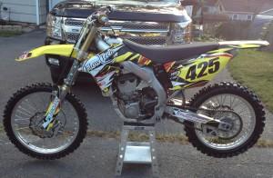 Derek's dirt bike