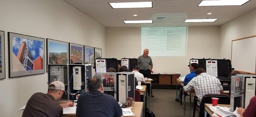 Brian Robinson hosting a VFD training.