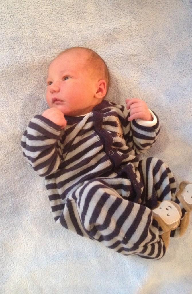 Charlie's grandson, Theodore.