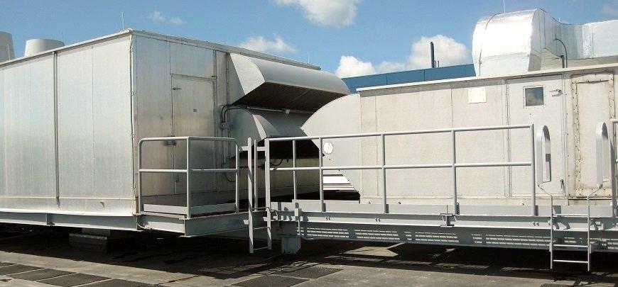 Aluminum air-handling unit