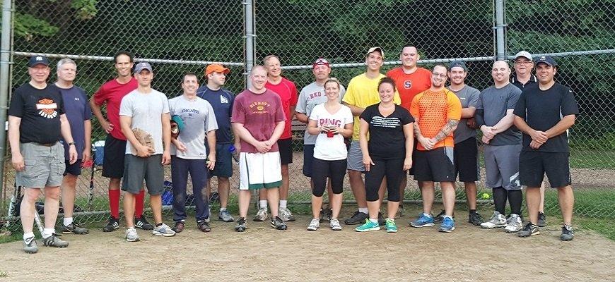 ASHRAE softball game