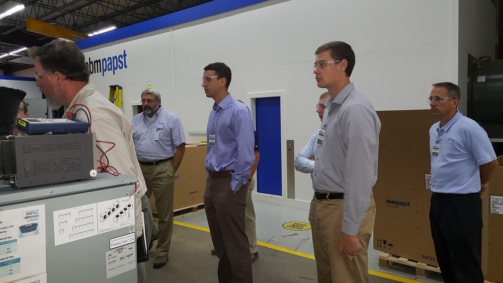 ebm-papst factory visit
