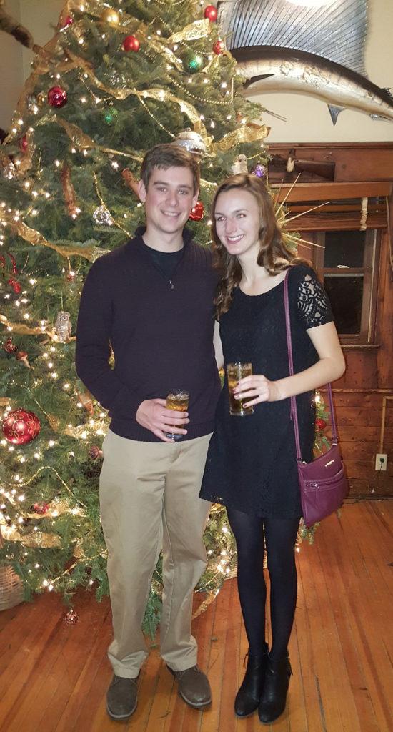 Evan and Nicole