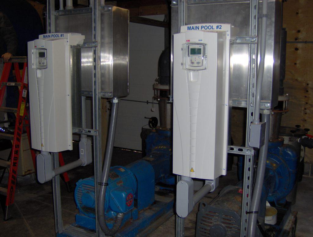 installed VFDS
