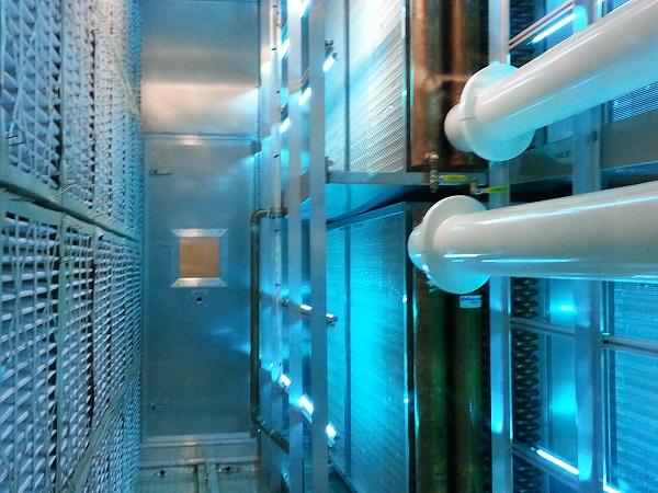 Inside a SiteBilt unit.