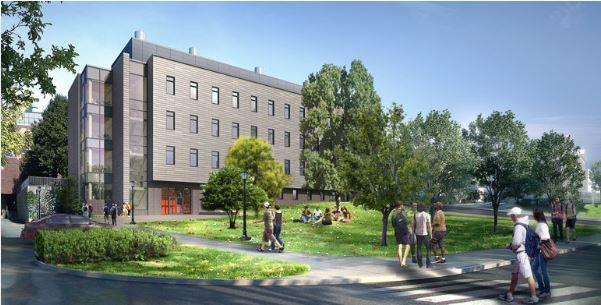 South Building rendering