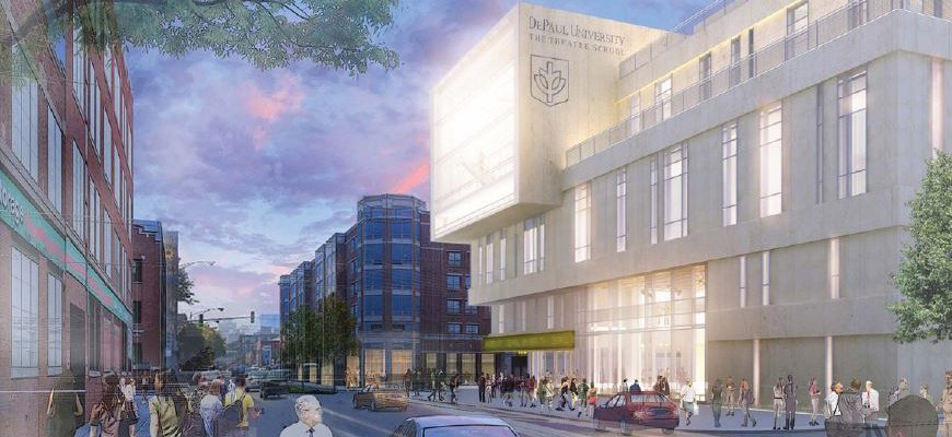 DePaul Theatre School Rendering