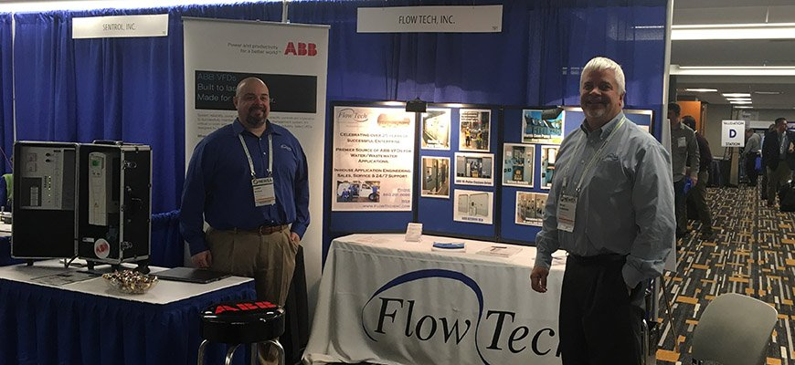 Brian and Larry in booth 191