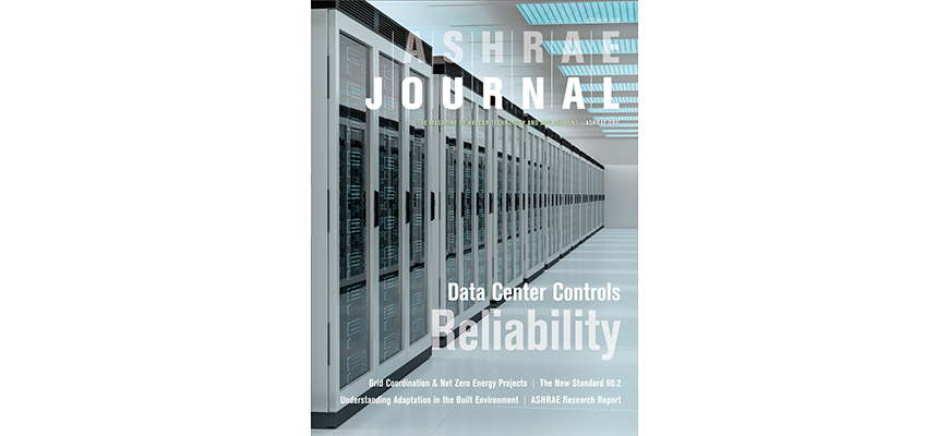 October 2018 ASHRAE Journal Cover Story