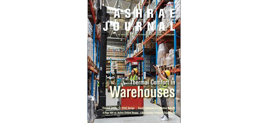 2018 ASHRAE Journal cover