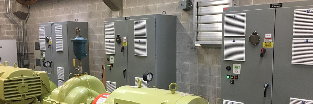 Easton Raw Water Pump Station