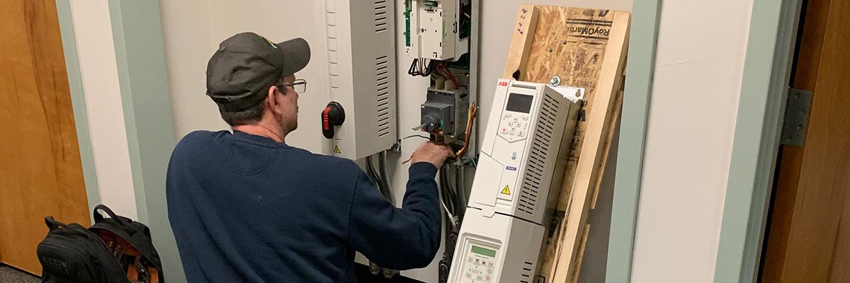 Upgrading an ABB ACH550 VFD to an ACH580