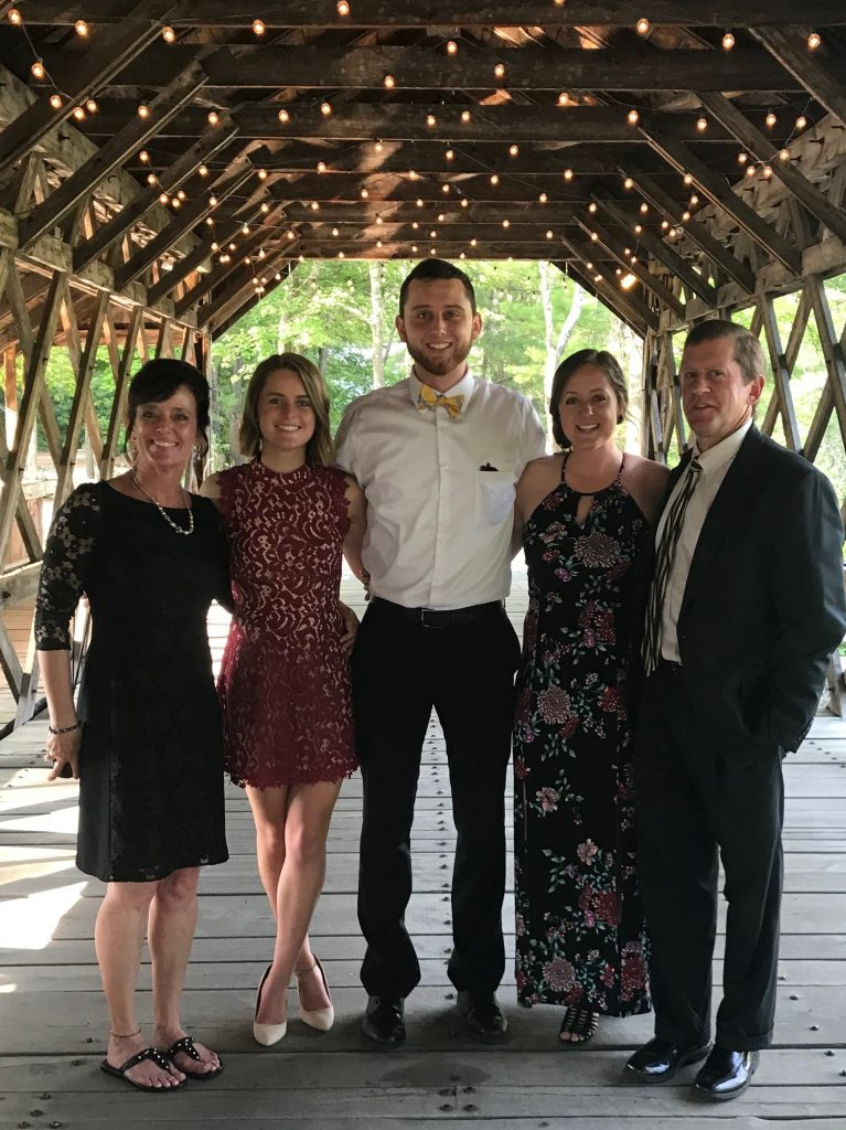 Ryan's family dolled up