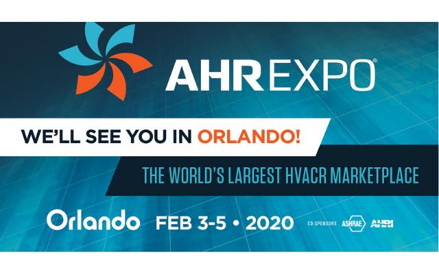 2020 AHR Expo logo