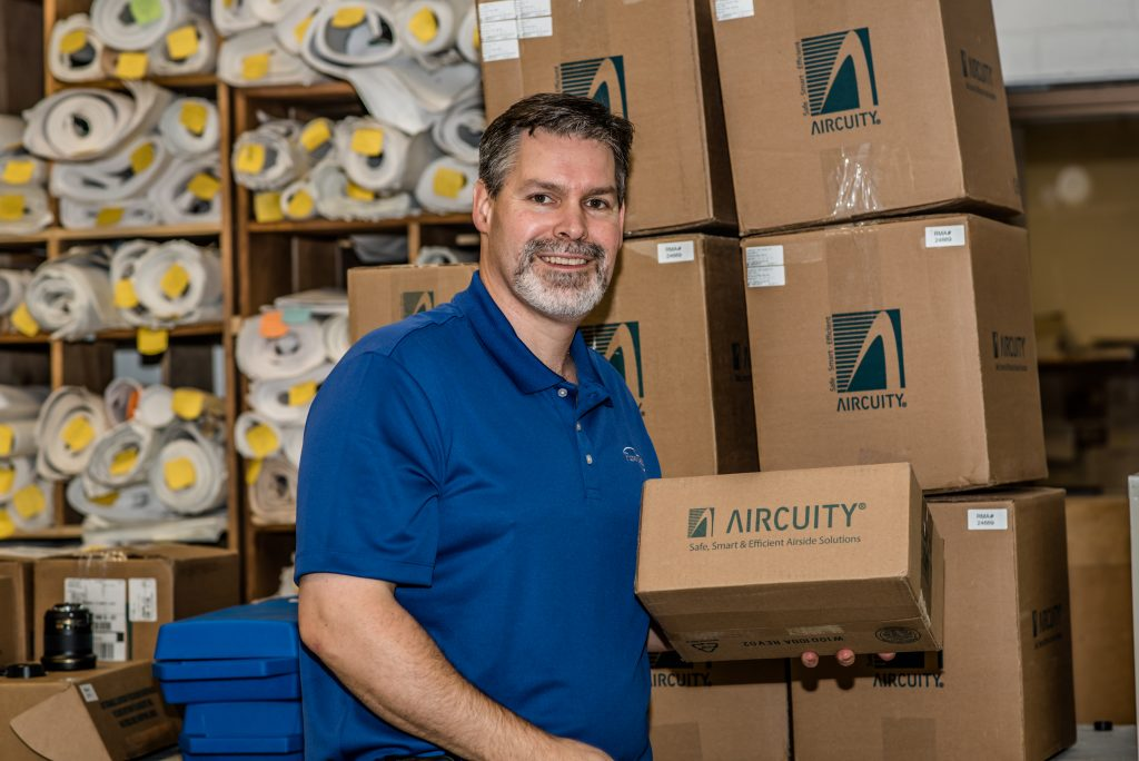 Tom Halgas Flow Tech's Newest Aircuity Rep
