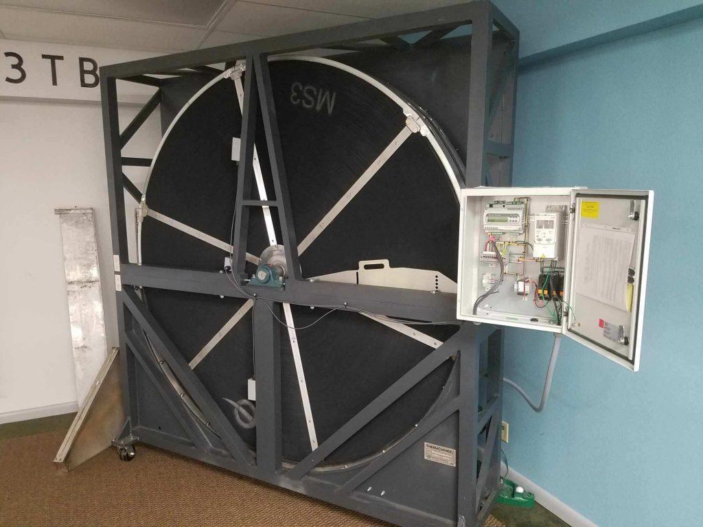 Thermowheel demo unit.