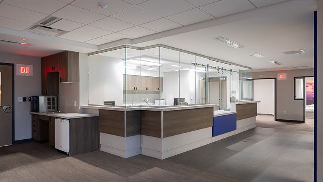 Bristol Hospital ER Behavioral Health Suite
