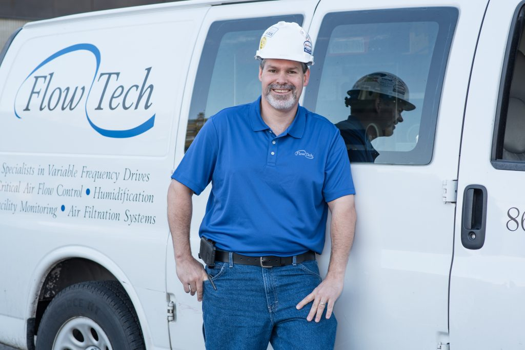 Tom Halgas Flow Tech Employee