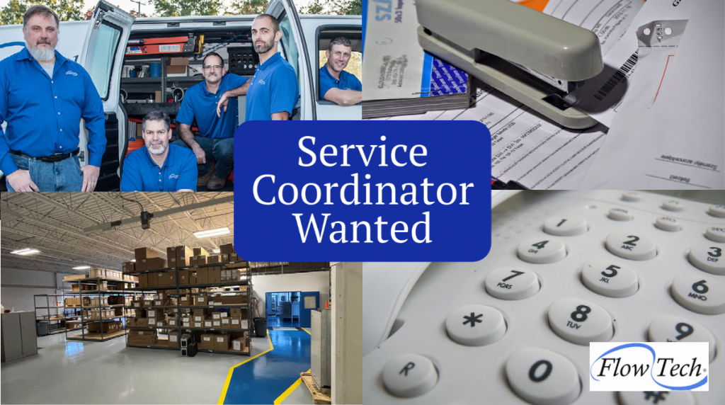 Flow Tech Seeks Service Coordinator